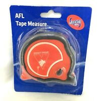 SYDNEY SWANS AFL OFFICIAL FOOTY 8m TAPE MEASURE BUILDERS MEASURING TAPE