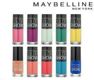 Maybelline Color Show Nail Lacquer /Varnish / Polish 7ml ~ Assorted Shades ~ New