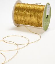 1mm STRING/METALLIC Ribbon gold color price for 8 yard