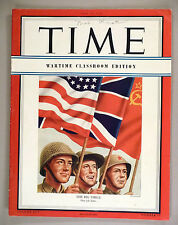 Time Magazine - Wartime Classroom Edition - May 14, 1945 -- V-E Day -- end WWII
