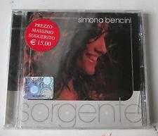 #  BENCINI SIMONA - SORGENTE -   CD NUOVO SIGILLATO -