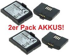 2 x batería original OTB para Sennheiser ba300 auriculares is410 rs4200 Batería Acu.