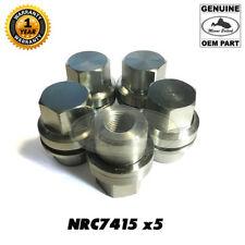 LAND ROVER WHEEL LUG NUTS SET x5 RR CLASSIC DEFENDER DISCOVERY I NRC7415 GENUINE