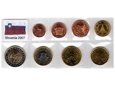 Euro SLOVENIA 2007 - 8 monete FDC in Blister