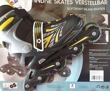 L.A. Sports größenverstellbare Softboot  Inline Skates Größe. 33-37