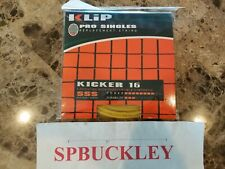 KLIP KICKER 16 PRO SINGLES  TENNIS REPLACEMENT STRING, CONTROL, NEW