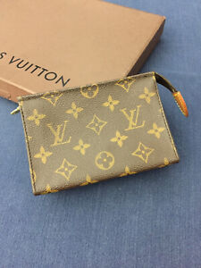 Louis Vuitton Toiletry 15 Pouch Bag Well Used