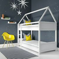 Coco House Bunk Bed in White