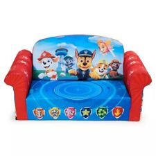 Marshmallow Furniture PAW Patrol Kid's 2-in-1 Flip Open Foam Sofa