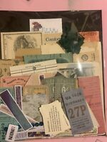 Junk Journal Ephemera Huge Lot Vintage Papers Etc Bundle