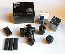 Panasonic LUMIX DC-GH5 4K Kit w/Lumix 12-35mm F2.8, plus 2 lenses, batteries