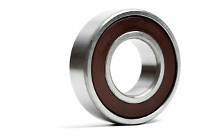 3307 2RS 35x80x34.9mm Double Row Angular Contact Ball Bearing