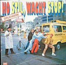 DRUKWERK - HO STIL, WACHT STOP  - LP (original innersleeve)