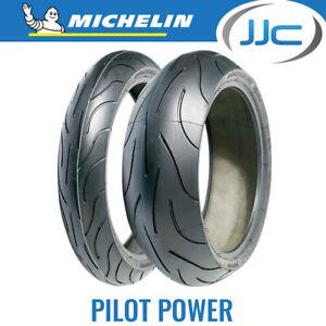 180 55 17 ZR17 73W Michelin Pilot Power Rear Motorcycle Sports Tyre