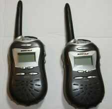 Set of 2 Frs-220 Cobra Micro Talk 2 Way Radios Hand Held 14 Channels.