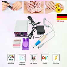 Professional 25000RPM Manicure Electric Drill File Nail Art Pen Machine Kit Set