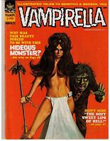 Vampirella # 10  (Vol 1 1971) VF Warren Magazine