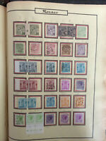 Timbres de collection; Monaco de 1885 à 1941