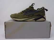 2014 FOOTPATROL X ASICS GEL TIGER KAYANO - OLIVE / BLACK - UK SIZE 6 H42UK 8690