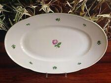 Augarten Vienna-Vienna ROSE 5089, elegante piastra ovale 38cm