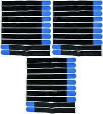 20 x cinta de velcro bridas 30 cm x 25 mm verde oscuro bandas velcro cable cinta de velcro