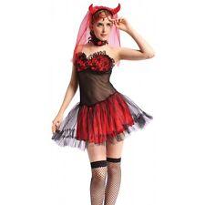 Sexy Miss Devil Set, Hen Nights, Devil Bride, Halloween Fancy Dress DS120