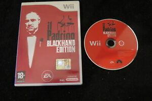 WII : IL PADRINO : BLACKHAND EDITION - ITA ! Comp Wii U ! CONSEGNA IN 24/48H