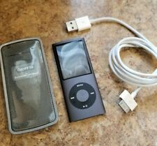 Apple iPod Nano 5th Gen A1320 8Gb Grey Works When cord plugged Need New Battery
