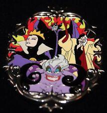 Disney Designer Villains Oval Frame Maleficent Evil Queen Ursula Box Pin LE 500