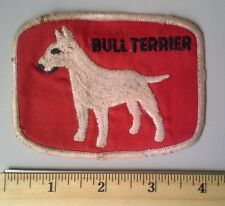 Bull Terrier Dog Breed Vintage Collectible Souvenir Patch