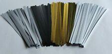 Nasenbügel Metall weis, schwarz, messingfarben für Masken Bügel Behelfsmasken