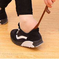Flexible Long Handle Shoehorn Shoe Horn AID Stick Plastic Tool KR16 GGUK