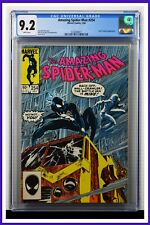 Amazing Spider-Man #254 CGC Graded 9.2 Marvel July 1984 White Pages Comic Book.
