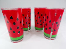 Stotter Drinkware Tumblers Glasses Set of Four Vintage Made In USA Acrylic 16oz