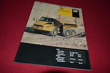 Caterpillar 730 Articulated Dump Truck Dealer's Brochure DCPA8