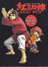 5 Dvd Box Cofanetto **JUDO BOY** di Tatsunoko serie completa nuovo 1969