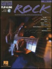 Rock Guitar Play-Along TAB Sheet Music Book/Audio ZZ Top Cream SAME DAY DISPATCH