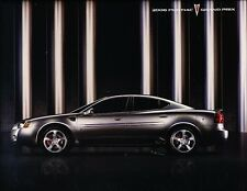 2006 Pontiac Grand Prix GT and GXP 34-page Original Car Sales Brochure Catalog