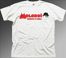 Clockwork ORANGE MOLODOI white printed cotton t-shirt 9924