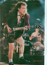 AC/DC 'strutting Angus' magazine PHOTO/Poster/clipping 11x8 inches