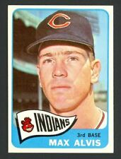 1965 Topps Max Alvis #185 - Cleveland Indians - NM-MT