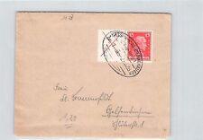 W23 / x+15 - I. Kant - seltener Zusammendruck auf Brief mit Bahnpoststempel