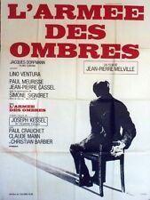 """L'ARMEE DES OMBRES "" Affiche originale (Jean-Pierre MELVILLE / Lino VENTURA)"