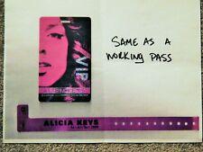 Alicia Keys As I Am Tour Original Credential Guide Mgm Grand Las Vegas 2008