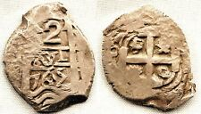 España-Carlos III. 2 reales 1765-V. POTOSI. EBC-/XF-. Plata 6,7 g. CAL-1365