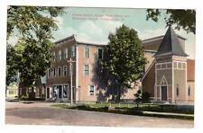 VT - PROCTORSVILLE CAVENDISH VERMONT 1911 Postcard ADAMS OPERA HOUSE CHURCH P.O.