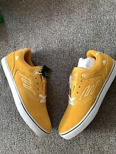 Emerica Skateboard Shoes The Low Vulc Yellow/White Mens