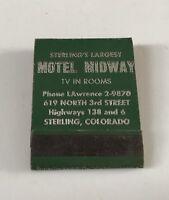 Old Matchbook Motel Midway Sterling CO