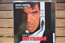 OUTRAGE Antonio Banderas - NEW LaserDisc - FREE Post - mmoetwil@hotmail.com