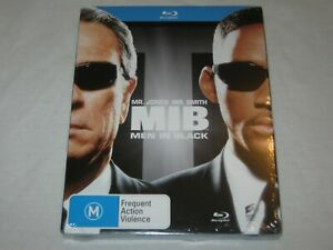 Men In Black - Will Smith - Brand New & Sealed - Region A, B, C - Blu Ray